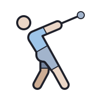 hammer throw icon