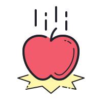 Falling Apple icon