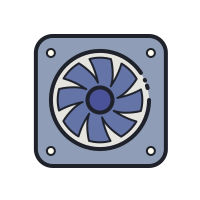 Ventilatore icon