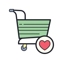 Favorite Cart icon