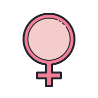 Female Gender Symbol icon