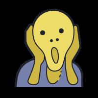 edvard munch icon