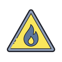 Flammable Material icon