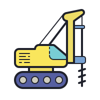 Foundation Drilling Rig icon
