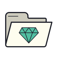 Dossier Gem icon