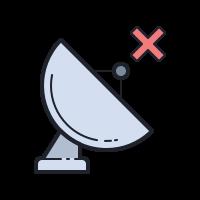 GPS切断 icon