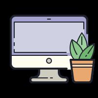 Casa e ufficio icon