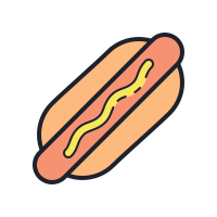 Hot-dog icon