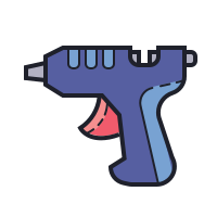 Hot Glue Gun icon