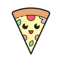 Kawaii Pizza icon