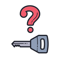 Key Not in Vehicle icon
