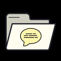 Папка журналов icon