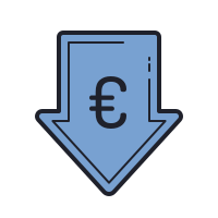 Low Price Euro icon