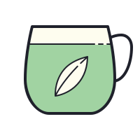 Thé matcha icon