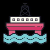 Plataforma de petróleo Offshore icon