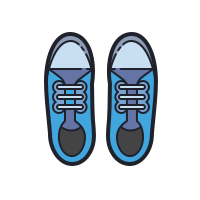 Pair Of Sneakers icon