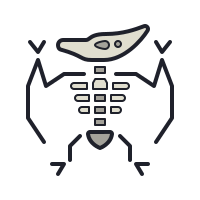 Pterodactyl Skeleton icon