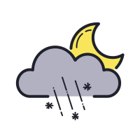 Rainy Snowy Night icon
