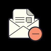 Удалить письмо icon