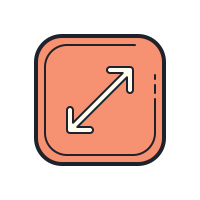 Redimensionar Diagonal icon