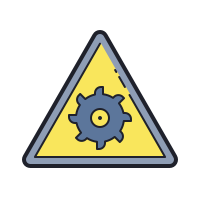 Rotating Blade Hazard icon
