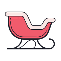 Santa Sleigh icon