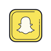 Snapchat Icon Free Download Png And Vector