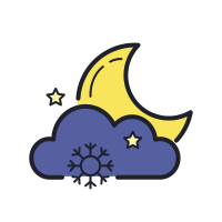 Nuit enneigée icon