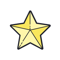 Outline of a Star icon