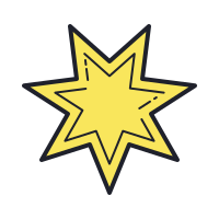 Starburst Shape icon