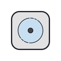 Tumble Dry Low Heat icon