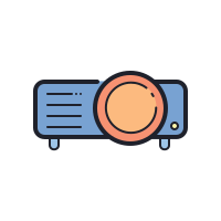 Projecteur video icon