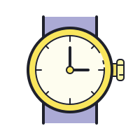 watches front-view icon