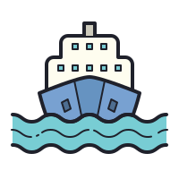 Transport maritime icon