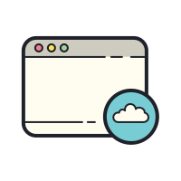 Window Cloud icon