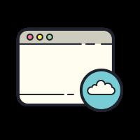 Fensterwolke icon