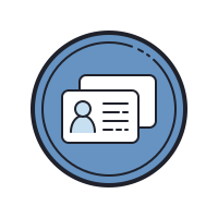 Worker ID Card icon