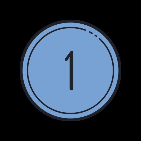 实心圈1 icon