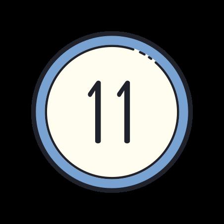 11 Circled icon