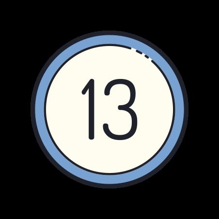 13 Circled icon