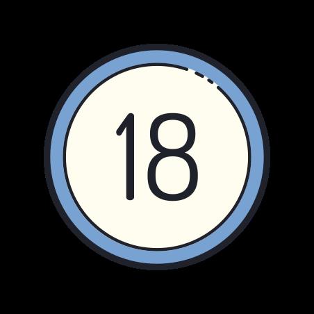 18 Circled icon