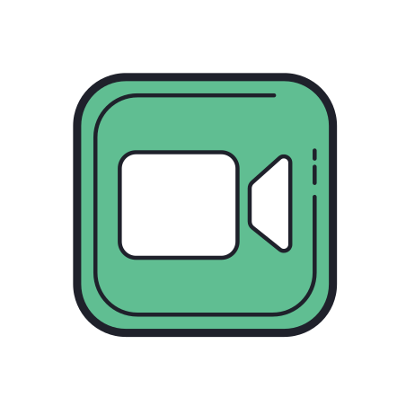 Facetime Icon Free Download Png And Vector