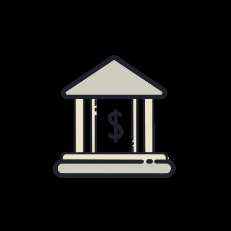 銀行の建物 icon