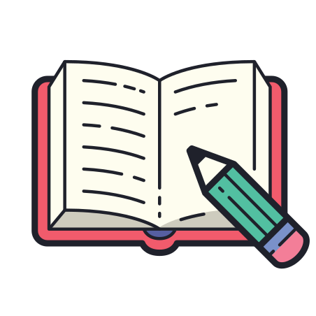 Book And Pencil icon