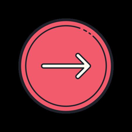 원 오른쪽 icon