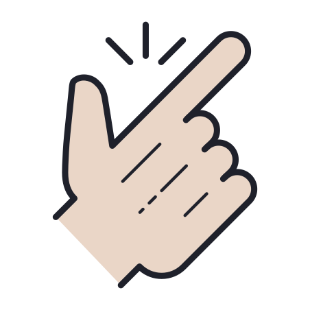 Easy icon in Color Hand Drawn