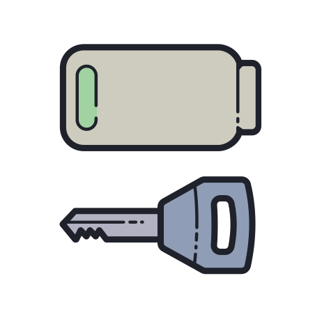 Key Fob Battery Low icon