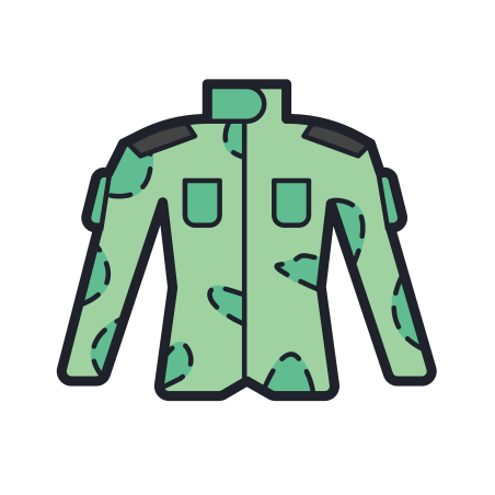 Military Uniform icon