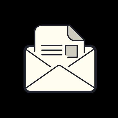 阅读邮件 icon