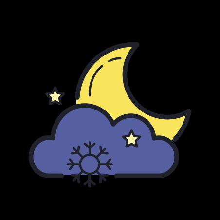 Snowy Night icon